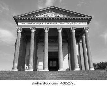 La Gran Madre church, Turin, Italy