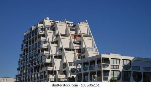La Grande Motte, France - October 2017 : Modern Architecture