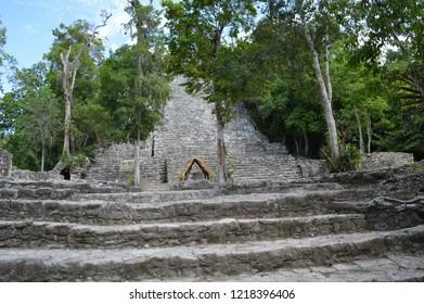 Coba's La Iglesia Structure