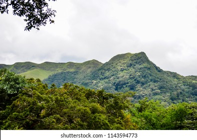 """La India Dormida"", a famous mountain in Anton Valley, Cocle, Panama."