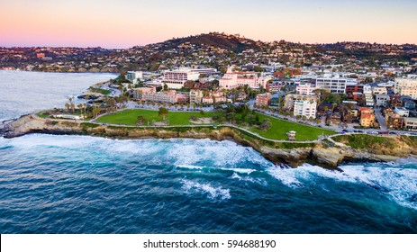 La Jolla, California Coast from above