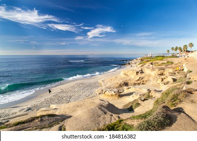 La Jolla cove beach, San Diego, California.
