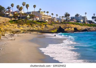 La Jolla Shores in La Jolla San Diego, Southern California Coast