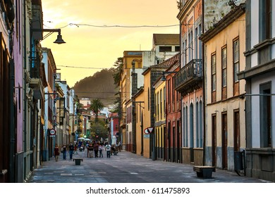 La Laguna - the famous historical town in Tenerife Island