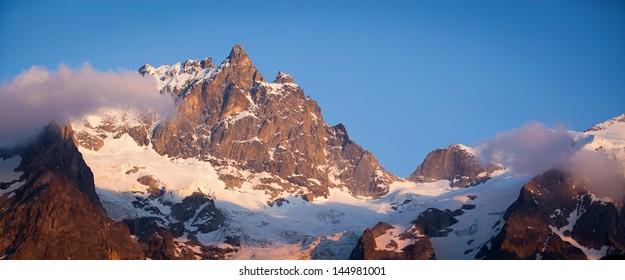 La Meije., French Alps