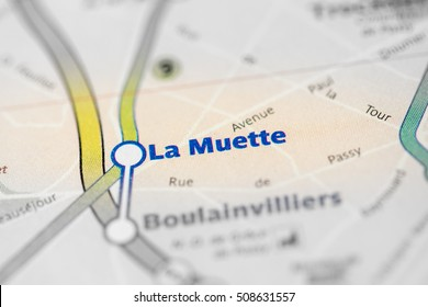 La Muette Station. 9th Line. Paris. France