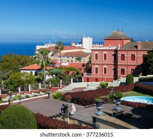 LA OROTAVA, SPAIN - JANUARY 22, 2016: View on La Orotava, a town in the northern part of Tenerife, one of the Canary Islands of Spain.