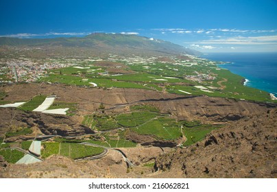 La Palma, Canary Islands, view from viewpoint Mirador el Time