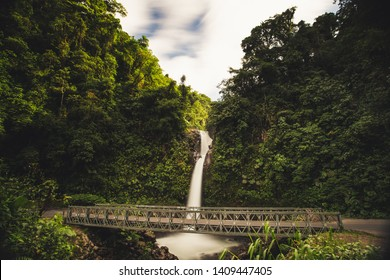 La Paz is a waterfall in central Costa Rica. In Spanish, it is known as Catarata de La Paz. It is 31 kilometres north of Alajuela, between Vara Blanca and Cinchona close to San Jose