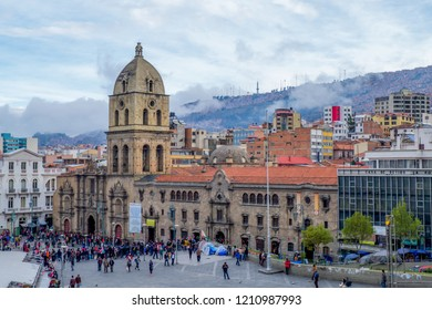 La Paz/Bolivia - May 20, 2017: La Paz, Bolivia is the highest capital city in the world.