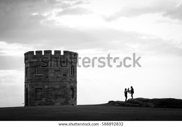 At La Perouse beach in Sydney Australia,Wednesday 15th February 2017:A place where tourists and residents, as families go on vacation and spend time together. This is the place to visit top of Sydney.