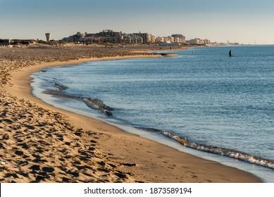 La Plage Sud de Canet en Roussillon, Perpignan, France - Shutterstock ID 1873589194