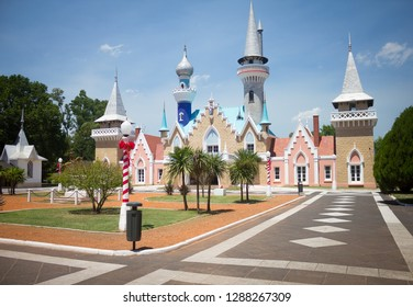 LA PLATA, BUENOS AIRES - ARGENTINA December 29, 2017 - Republic of Children, Theme Park