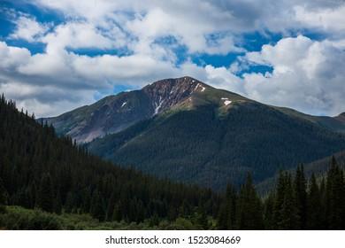 La Plata Peak, a 14er near Aspen Colorado.