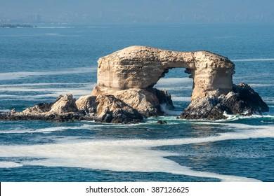 La Portada Rock Formation, Atacama, Antofagasta, Chile