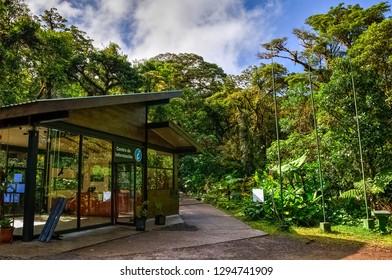 La Reserva Bosque Nuboso Santa Elena, information center, Monteverde, Costa rica