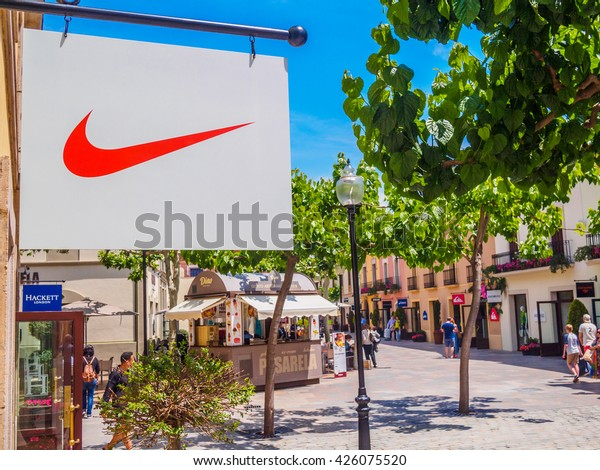 Monet Excremento historia  La Roca Village Granollers Barcelona Catalonia Stock Photo (Edit Now)  426075520