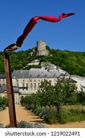 La Roche Guyon, France - may 4 2018 : the castle