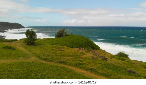 La Roche Qui Pleure in Mauritius, Africa.