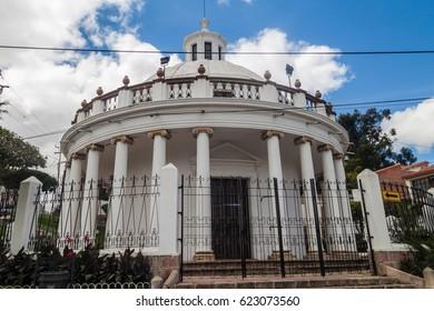 La Rotonda chapel in Sucre, Bolivia
