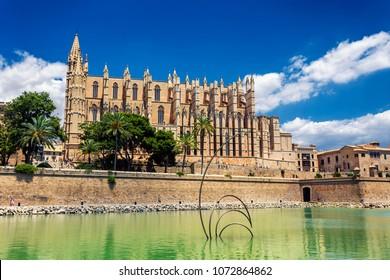La Seu - Cathedral of Santa Maria of Palma, Palma de Mallorca, Spain