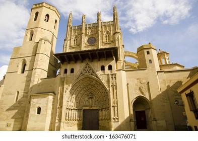 La seu vella in Lleida city, Catalonia