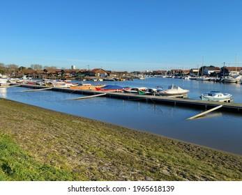 La Teste de Buch, France - August 2020 : Port of La Teste de Buch, France on the Arcachon bay