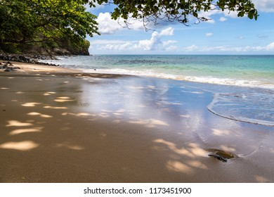La Toc Beach on St Lucia in the Caribbean