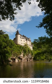La Treyne Castle, Lot department, Occitanie, France