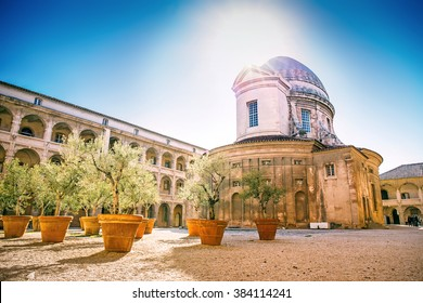 La Vieille Charite is a former almshouse, now functioning as a museum and cultural centre, situated in the heart of the old Panier quarter of Marseille, Provence, France