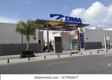 La Zenia, Spain - 14 Sept 2018 : La Zenia Boulevard shopping center, near Torrevieja,  in Spain.