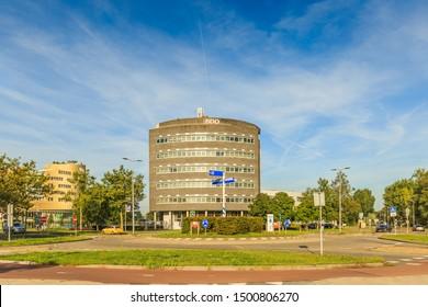 Laan der continenten 172, Alphen aan den Rijn, South Holland, The Netherlands, August 23, 2019: Office building of BDO Accountant & Tax Advisor