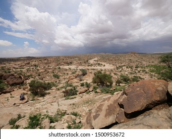 Laas Geel view in Somaliland
