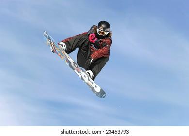 LAAX, SWITZERLAND- JANUARY 16: Shaun White, USA, competing in the Burton European Open Snowboarding Championships January 16, 2009 in Laax, Switzerland.