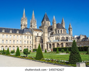 L'Abbaye-aux-Hommes or Abbey of Saint-Etienne, Caen, France