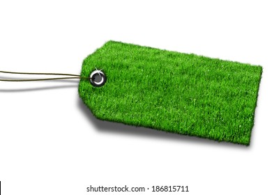 label green grass
