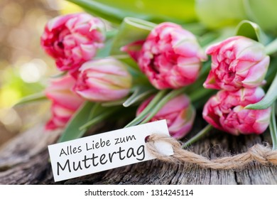 Label with text: Mother`s day