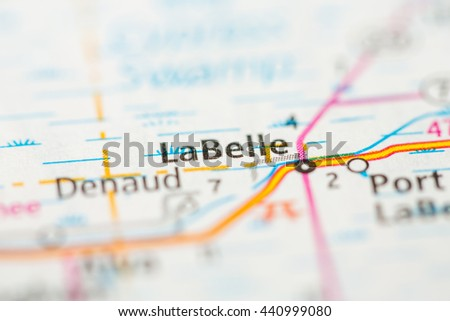 Where Is Labelle Florida In The Map.La Belle Florida Usa Stock Photo Edit Now 440999080 Shutterstock