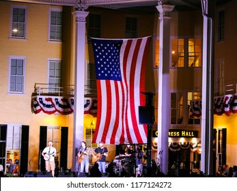 Labor Day Celebration at Congress Hall, Cape May, New Jersey. - September 2, 2018.  Labor Day Celebration at Congress Hall was taken while vacationing in Cape May, New Jersey on September 2, 2018.