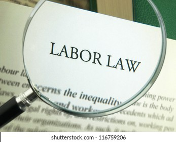 Labor law on human work