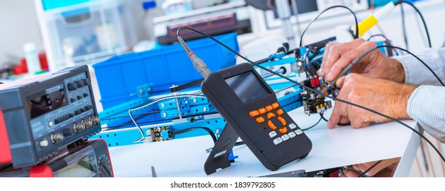 Laboratory equipment physical optical experiments - Shutterstock ID 1839792805