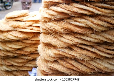 Laborers busy in preparing Khajla and Pheni (traditional dish) ahead of Muslims holy month of Ramadan in Karachi, Pakistan on Wednesday, May 01, 2019.