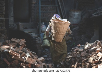 laborious work in the developing country