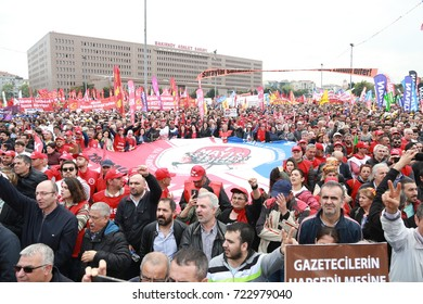 Labor's Day Meeting from Turkey, MAY 1, 2017, ISTANBUL, TURKEY.