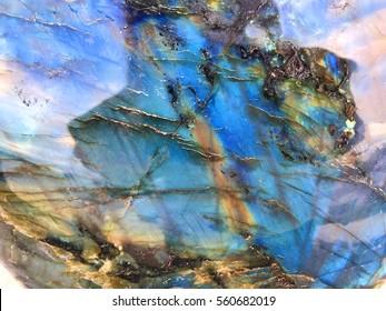 Labradorite Gemstone Background