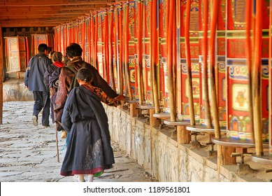 Labrang Monastery. Tibet, China