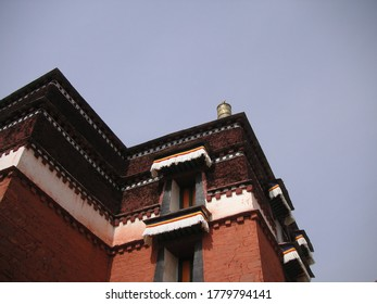 Labrang Tibetan Monastery and Sky View