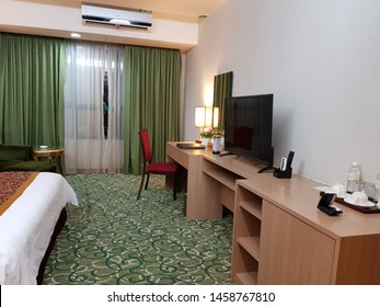 Labuan, Malaysia. December 5, 2018. Interior of Aifa Hotel in Federal Territory Labuan. Aifa Hotel is one of the best hotel located in the heart of the town center