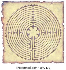 Labyrinth on Parchment