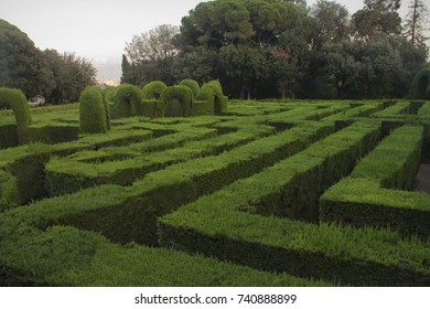 Labyrinth park of horta, in barcelona, an amazing maze to visit